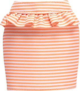Barbie FPH22 Bottoms Fashion, Orange/White