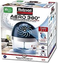 Rubson AERO 360° Absorbeur d'humidité pour pièces de 20 m², déshumidificateur d'air anti odeurs & anti moisissure, inclus ...