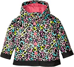 Western Chief Kids Groovy Leopard Rain Coat (Toddler/Little Kids)