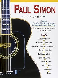Paul Simon - Transcribed (Paul Simon/Simon & Garfunkel)