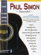 paul simon transcribed