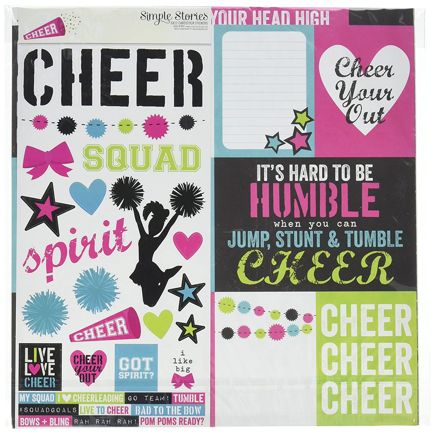Simple Stories Cheer 12x12 Collection Kit