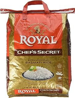 Royal Chef's Secret Extra Long Basmati Rice, 20 Pound