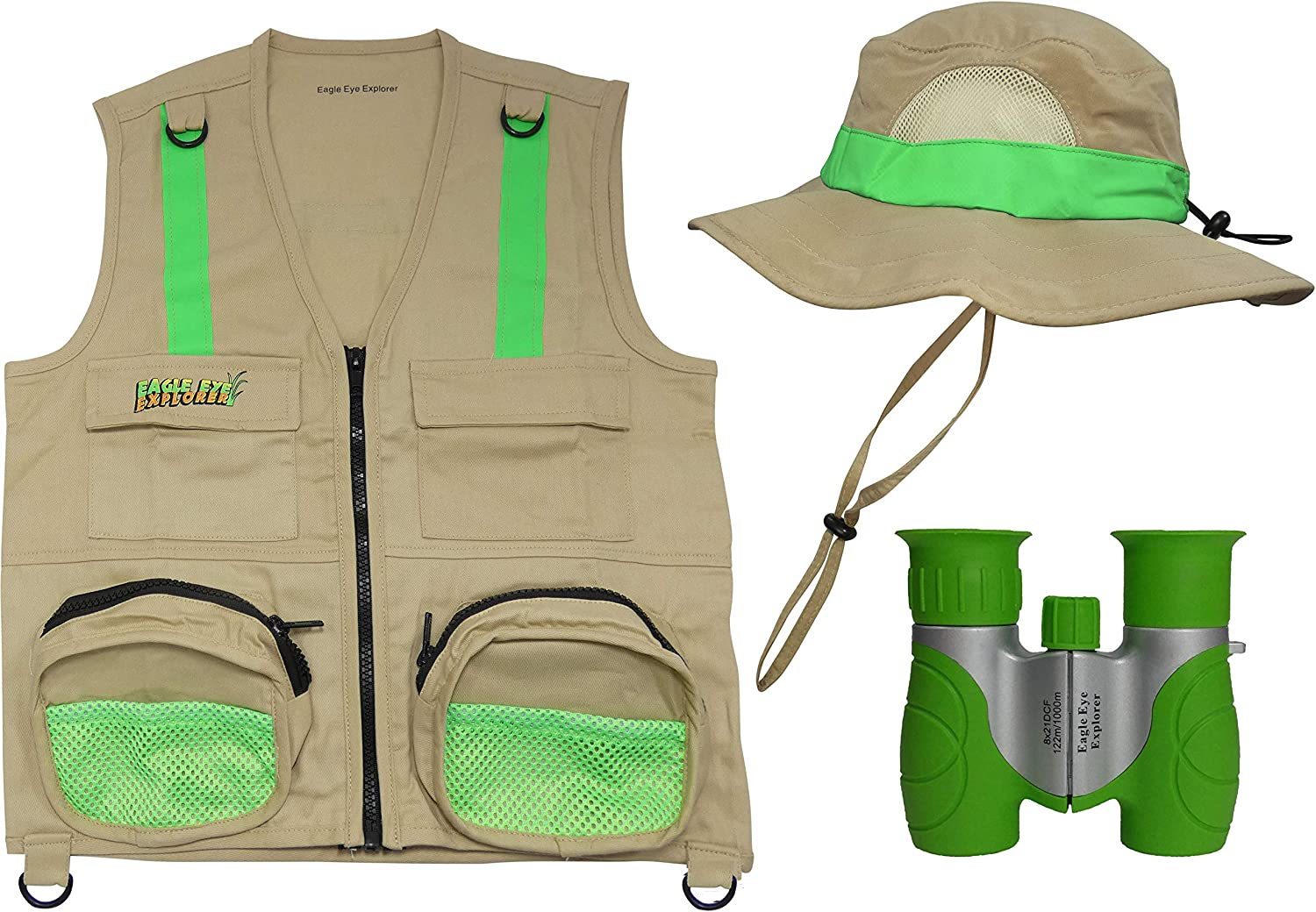 Eagle Eye Explorer Multi-Piece Set Max 74% OFF Reflective Sa Cargo We OFFer at cheap prices Vest with