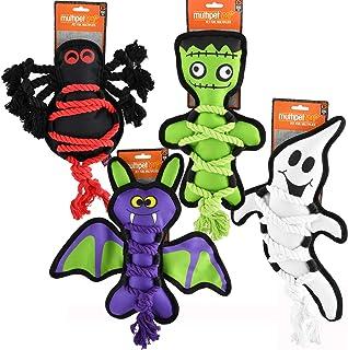 "Cross-Ropes Halloween 11"" Bat Dog Toy"