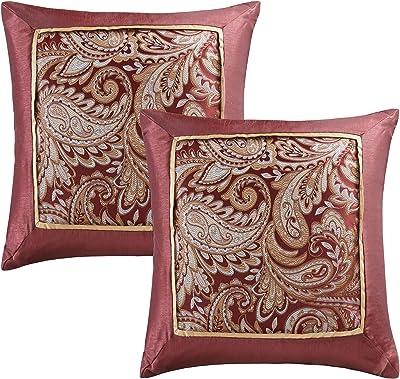 Amazon.com: Juego de almohadas de lujo, 3 fundas de almohada ...
