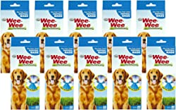 600 Count Four Paws Doggie Doo Waste Bags (10 Packages with 60 Bags Each)