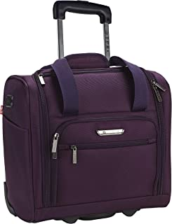 TPRC 15-Inch Under Seat Carry-On Bag, Purple, Underseater