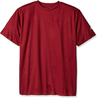 Russell Athletic Men's Big and Tall Dri-Power Solid Short Sleeve Crew