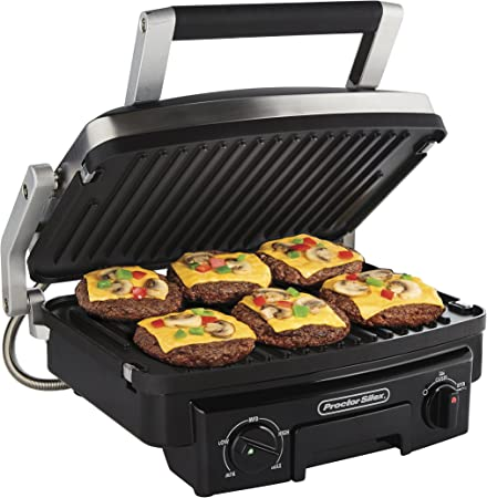 Proctor Silex 5-in-1 Electric Indoor Grill