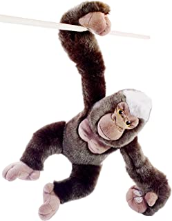 VIAHART Geraldo The Gorilla | 16 Inch (with Hanging Arms Outstretched) Stuffed Animal Plush Monkey | by Tiger Tale Toys