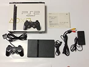 Playstation 2 (SCPH-79000) Charcoal Black Console (Japanese Import)
