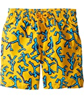 Vilebrequin Kids - Danse Du Feu Swim Trunk (Big Kids)