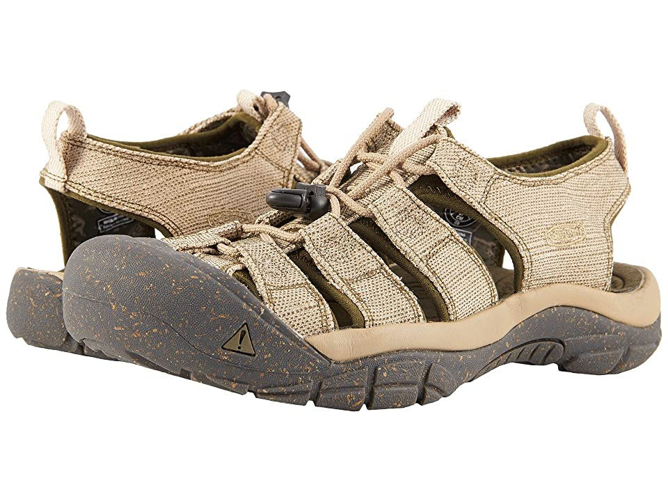 Keen Newport Retro (Hemp/Dark Olive) Men