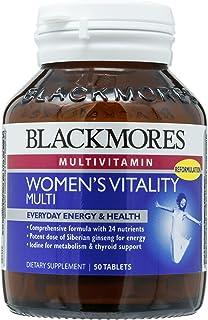 Blackmores Womens Vitality Multi, 50ct