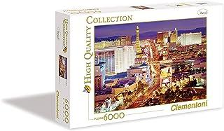 Clementoni - 36510 - Puzzle Collection High Quality 6000 pièces - Las Vegas