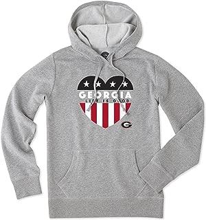 NCAA Women's Go-to Hoodie Americana Heart Sweatshirt