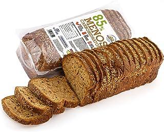 Pan Proteico SiempreTierno XXL 500 grs · Pan Keto Proteinado Bajo en Carbohidratos · 25% de Proteínas · Ideal dietas Hipoc...