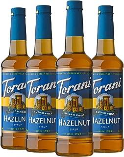 Torani Sugar Free Syrup, Hazelnut, 25.4 Ounces (Pack of 4)