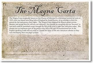 Magna Carta - NEW Classroom Social Studies Poster