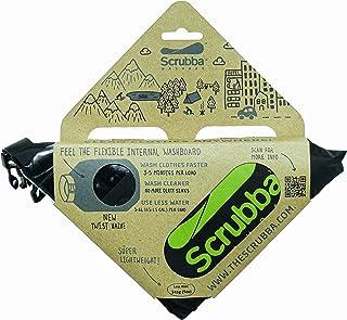 旅行用洗濯袋 Scrubba Washbag スクラバ ウォッシュバッグ 便利トラベルグッズ キャンプ 携帯用洗濯袋 (ウォッシュバッグ, 緑) (緑, ウォッシュバッグ) (黒)