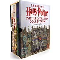 Harry Potter and the Sorcerer's Stone: The Illustrated Edition (Hardcover Book 1)