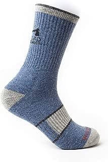 WOODROAD Alpaca Wool Blend Crew Socks For Men & Women - Premium Wool Hiking Socks