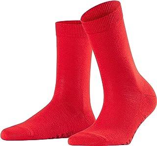 FALKE Socken Family Baumwolle Damen weiß schwarz viele weitere Farben verstärkte Damensocken ohne Muster atmungsaktiv dünn und einfarbig 1 Paar