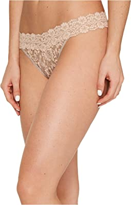 Cross-Dyed Signature Lace Original Rise Thong