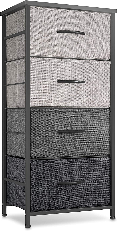 CubiCubi Dresser Storage Max 77% OFF Tower 4 Organizer Unit Fabric Max 63% OFF Drawers