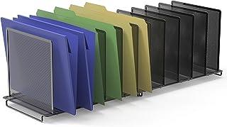 Sponsored Ad - 2 Pack- SimpleHouseware 5 Section File Sorter Organizer