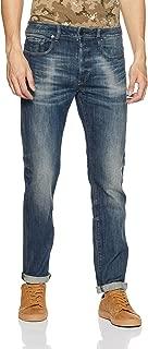 G-Star Raw Men's 3301 Slim Jeans, Dark Aged Antic, 30W x 30L