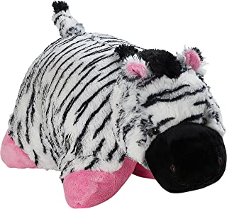 "Pillow Pets Originals Zippity Zebra 18"" Stuffed Animal Plush Toy"