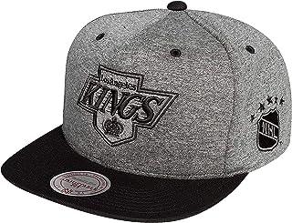 22d142fbbda1b Mitchell & Ness Los Angeles Kings EU449 Jersey Grey Black Snapback Cap  Basecaps