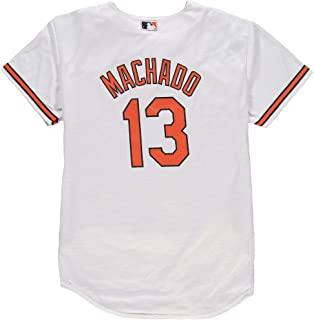 Outerstuff Manny Machado Baltimore Orioles White Youth Cool Base Home Replica Jersey