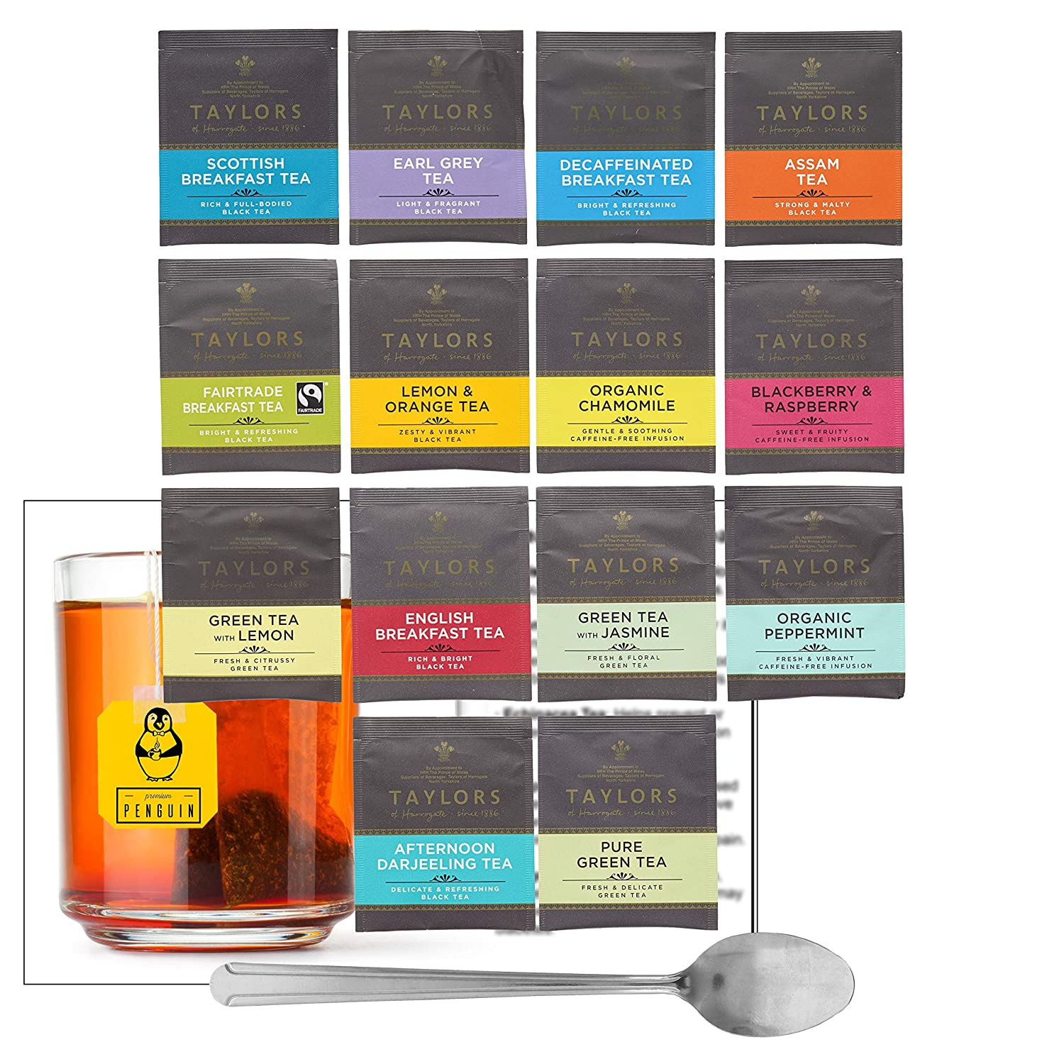 Taylors of Manufacturer regenerated product Harrogate Green Tea Infusion Sampl Black and Genuine