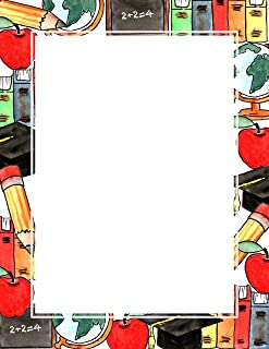 Geographics Back to School Letterhead 8.5 x 11 inches, 100/Pack (47587)