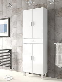 Abitti Mueble de baño o Aseo con Dos Puertas Superiores e