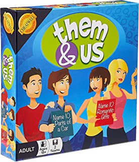Cheatwell Adult Fun Board Game, Them and Us