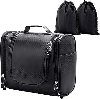 Hanging Toiletry Bag, ELV Large Travel Toiletry Bag Kit Organizer Washable Portable Waterproof Cosmetic Makeup Bag for Bat...