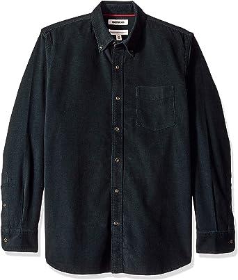 Marca Amazon - Goodthreads – Camisa de pana de corte estándar de manga larga para hombre