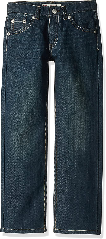 Levi's Luxury goods Boys' 505 Regular Fit Weekly update Jeans