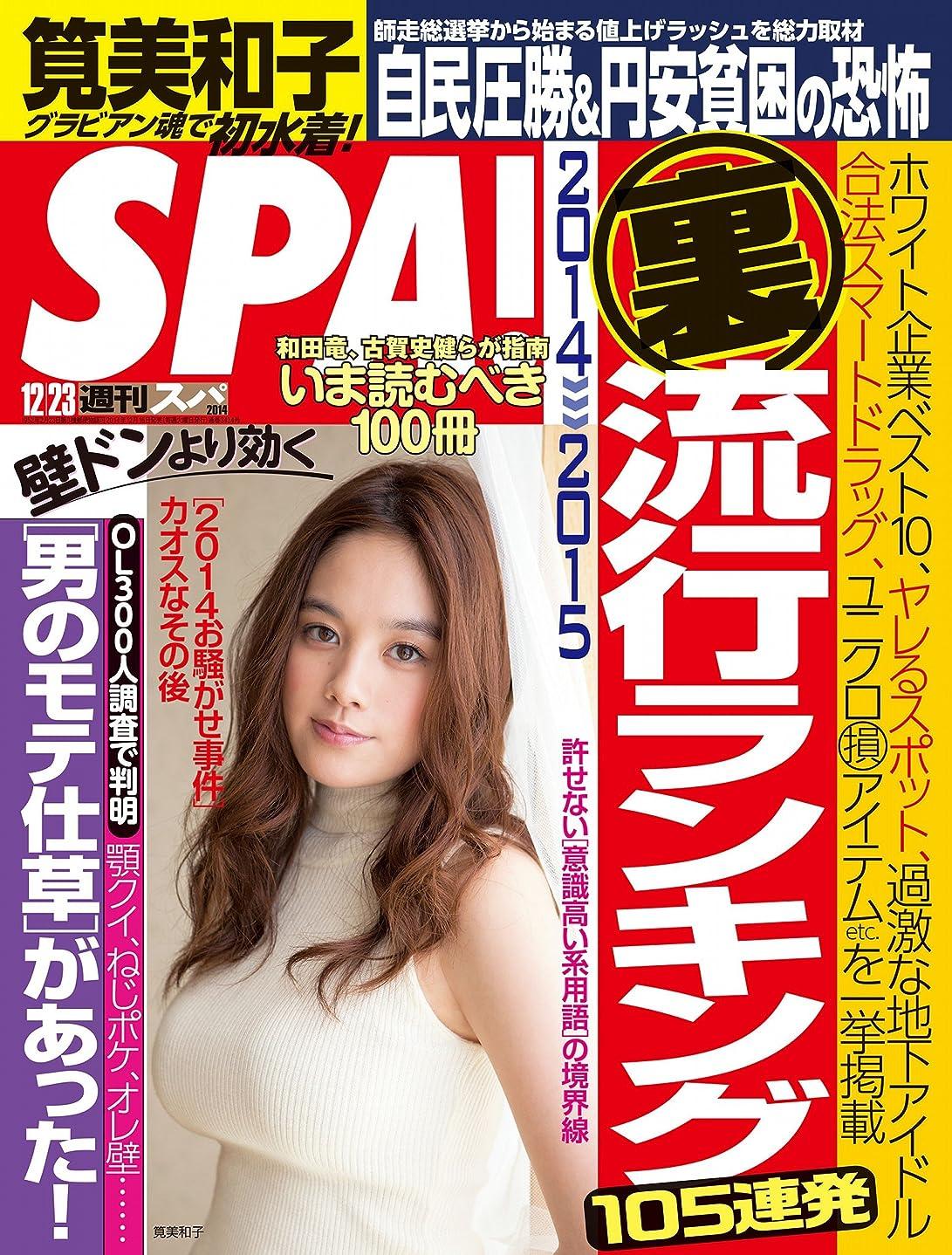 告白する探検分析する週刊SPA!(スパ) 2014 年 12/23 号 [雑誌] 週刊SPA! (デジタル雑誌)