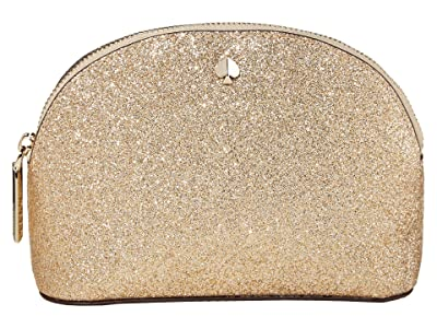 Kate Spade New York Burgess Court Small Dome Cosmetic (Pale Gold) Cosmetic Case