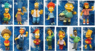 The Simpsons Christmas Tree Ornament Set - 2