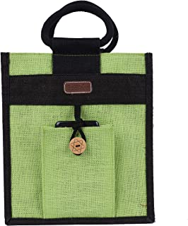 ECOTARA Jute Lunch Bag (Green)