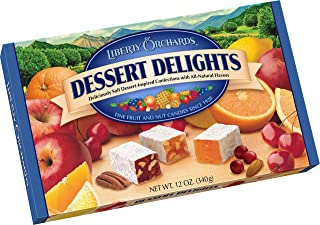 Liberty Orchards Dessert Delights Fruit & Nut Candies, 12 Ounce