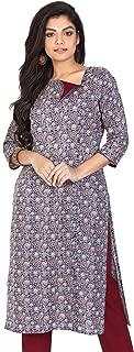 Blue Ajrakh Printed Trouser Set