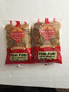 Himalayan Delight Ready-to-Cook Pani Puri with Masala - 7 Ounces (Pack of 2)