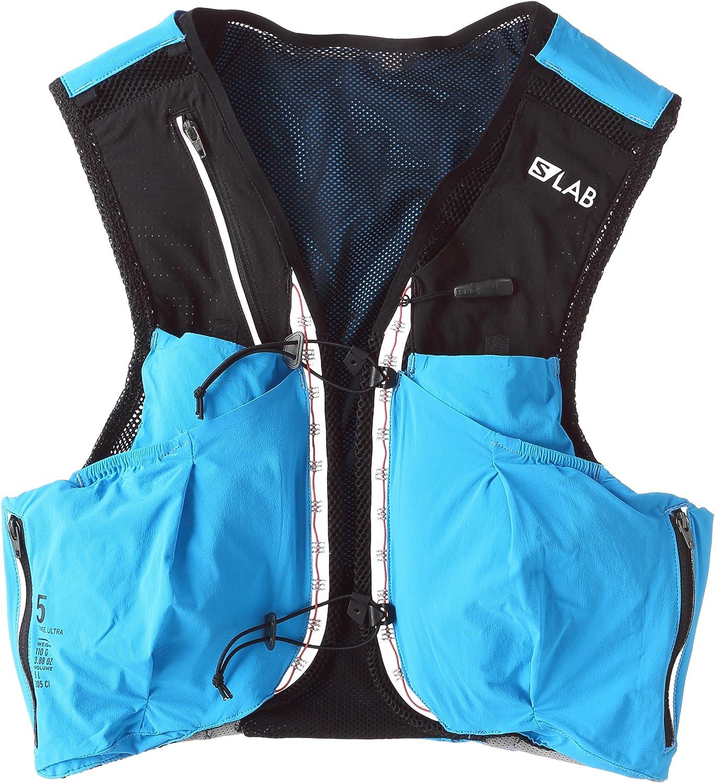 Salomon Unisex Sense Ultra Set Backpack, Transcend bluee